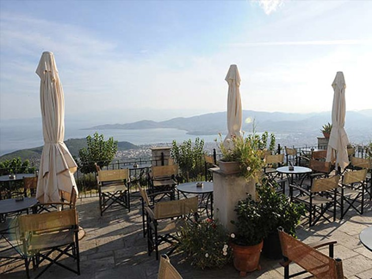 Bars et cafés à Pélion - Grèce