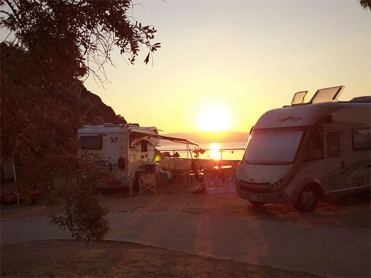 Camping à Pélion - Grèce